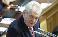 Miloš Zeman, photo: CTK