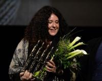 Režisérka Eszter Hajdú převzala hlavní cenu festivalu Jeden svět za svůj dokument Verdikt v Maďarsku (Foto: ČTK)