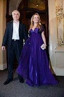 Iveta Bartošová with her husband Josef Rychtář, photo: CTK