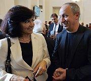 Eliška Krausová, Jan Kraus, photo: CTK