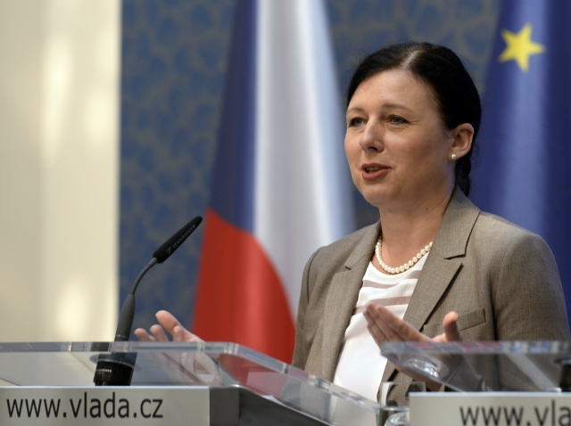 Věra Jourová, photo: CTK