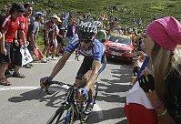 Le cycliste tchèque Leopold König et Škoda Octavia, photo: ČTK