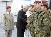 General Petr Pavel, Miloš Zeman, photo: CTK