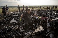 Crash site of Malaysia Airlines Flight 17, Ukraine, July 19, 2014, photo: CTK