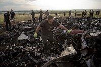 Crash site of Malaysia Airlines Flight 17, Ukraine, July 19, 2014, photo: CTK