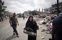 Rafah refugee camp, Gaza Strip, August 4, 2014, photo: CTK