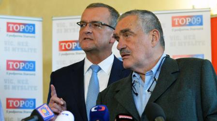 Miroslav Kalousek und Karel Schwarzenberg (Foto: ČTK)
