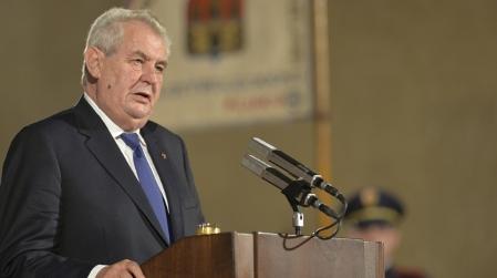 Presidente checo Miloš Zeman, foto: ČTK