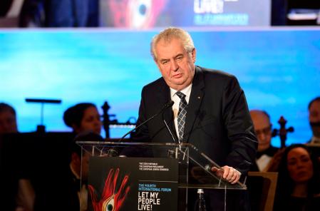 Miloš Zeman, photo: CTK