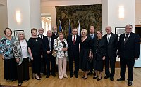 Лауреаты премии Gratias Agit и министр Лубомир Заоралек (Фото: ЧТК)