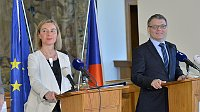 Federica Mogherini und Lubomír Zaorálek (Foto: ČTK)
