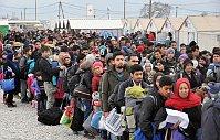 Gevgelia migrant camp, photo: CTK