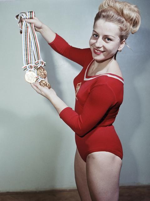 Чешские гимнастки