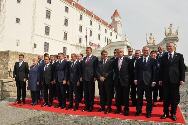 Gipfel von Bratislava (Foto: ČTK)