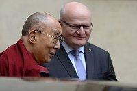 Dalái Lama y Daniel Herman, foto: ČTK