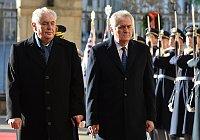 Miloš Zeman et Tomislav Nikolic, photo: ČTK