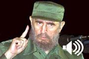 Haga click aquí y puede oír a Fidel Castro (Foto: CTK)