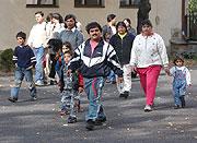Romská rodina Červeňákových z ústecké městské části Předlice, foto: ČTK