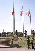 Le monument de l'amitié franco-tchécoslovaque, à Darney en Lorraine (Photo : CTK)