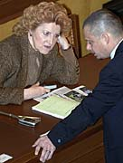 Vlasta Parkanova and Jan Vidim, photo: CTK