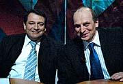 Jiří Paroubek (vlevo) s Petrem Gandalovičem, foto: ČTK