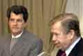 Oswaldo Paya et Vaclav Havel, photo: CTK