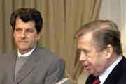 Oswaldo Payá Sardiñas y Václav Havel, foto: CTK