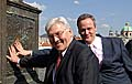 Frank-Walter Steinmeier mit Cyril Svoboda (Foto: CTK)