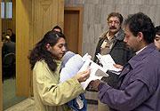 Eheleute Ziga, Opfer des Überfalls (Foto: CTK)