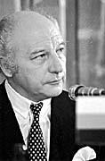 Walter Scheel (Foto: ČTKL)