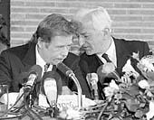 Вацлав Гавел с Рихардом фон Вайцзеккером (Фото: ЧТК)