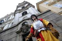 Башня храма святого Микулаша и оруженосец (Фото: ЧТК)