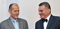 Zdenk Tma (left), Civic Democrats' Bohuslav Svoboda, photo: CTK