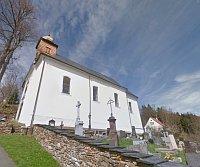 St. Wenzel-Kirche in Paseky, foto: Google Maps