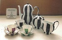 Porcelana con diseño de Josef Hoffmann