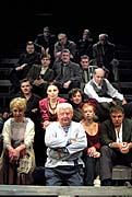 Moskevské divadlo Olega Tabakova aGorkého hra Na dně