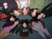Los integrantes del Teatro Rojo de Ostrava