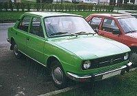 Škoda 105, photo : Der Eberswalder, Public Domain