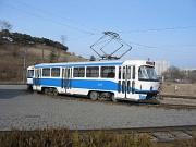 T3 tram in Pyongyang