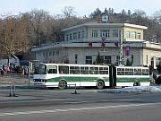 Trolleybus in Pyongyang