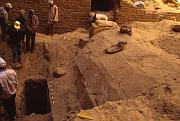 Excavation in Abusir, photo: egyptologie.ff.cuni.cz