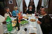 Cena con la colectividad checa de Resistencia