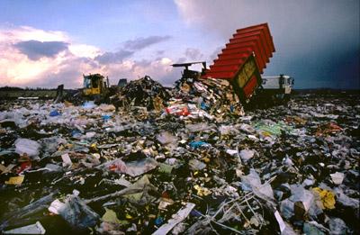 Müll wiederverwerten