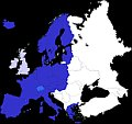 Schengen zone in 2008