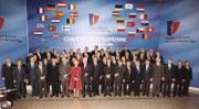 Le Sommet de l'Union européenne à Nice, France