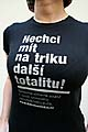 «Футболкой против коммунизма» (Фото: www.dekomunizace.cz)