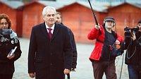 Miloš Zeman in 'Hledá se prezident', photo: Negativ