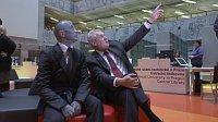 Vladimír Franz, Miloš Zeman in 'Hledá se prezident', photo: Negativ