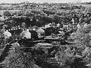 The village of Cwmgiedd in 1942