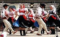 La groupe folklorique 'Naděje'